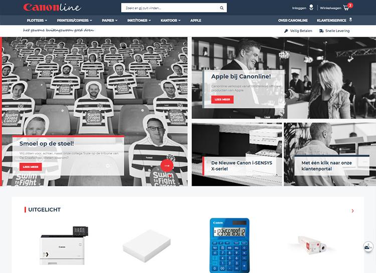 CanonlineMagento webshop case