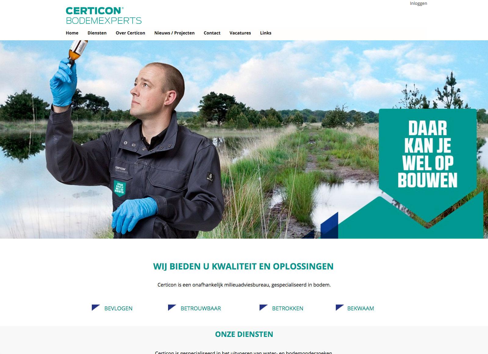 CerticonAFAS OutSite website case