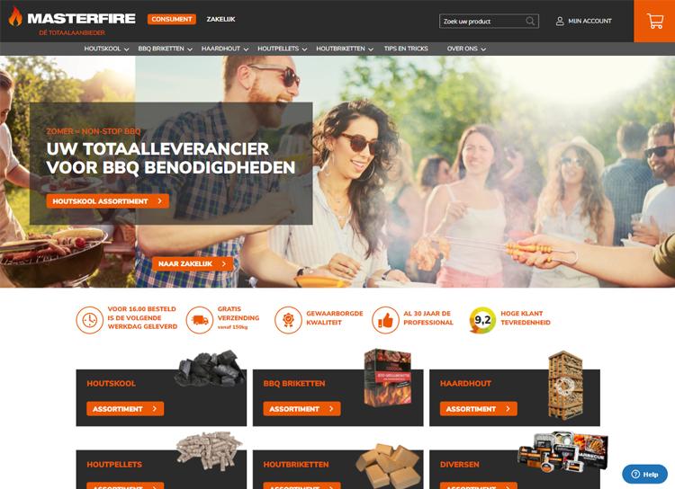 MasterfireMagento B2C & B2B Webshop case