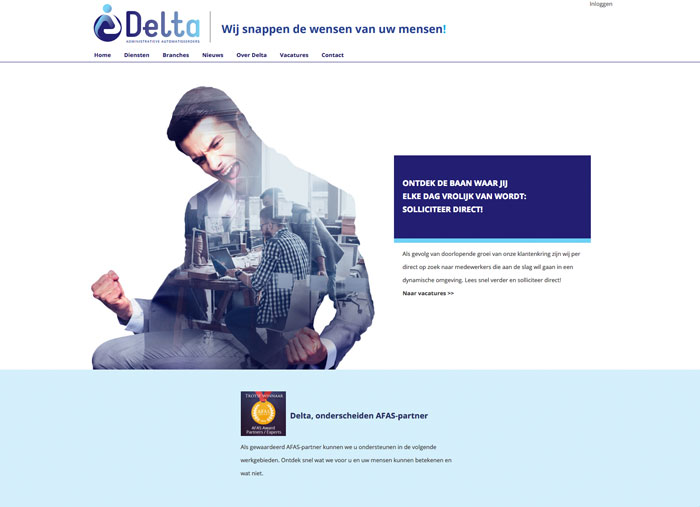 DeltaAFAS OutSite case