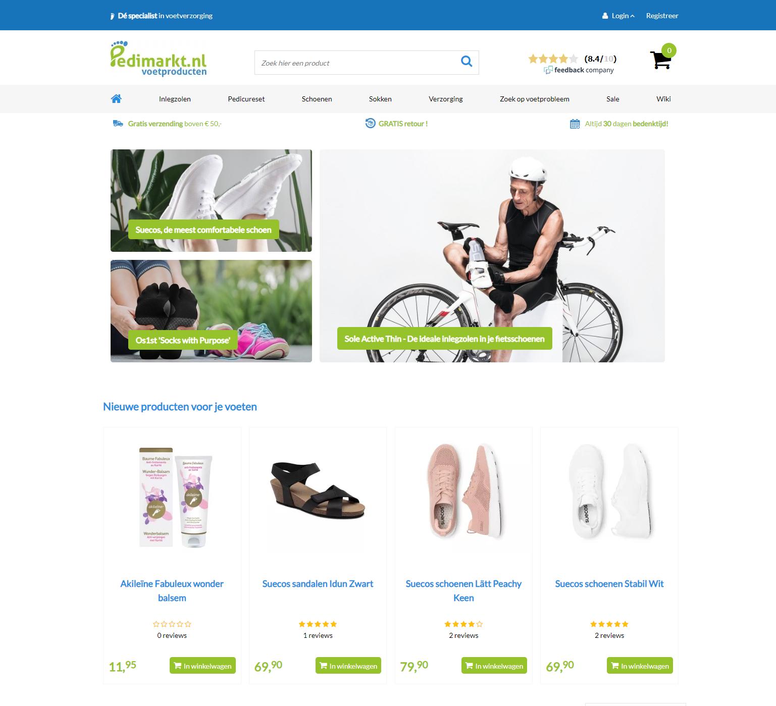 PedimarktCCV Shop webshop case