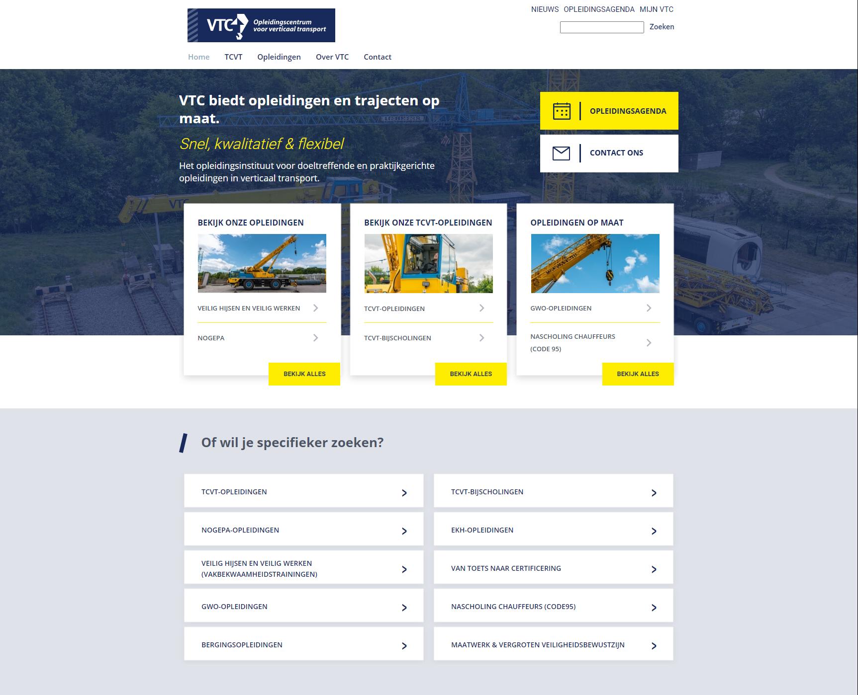 VTCAFAS OutSite website case
