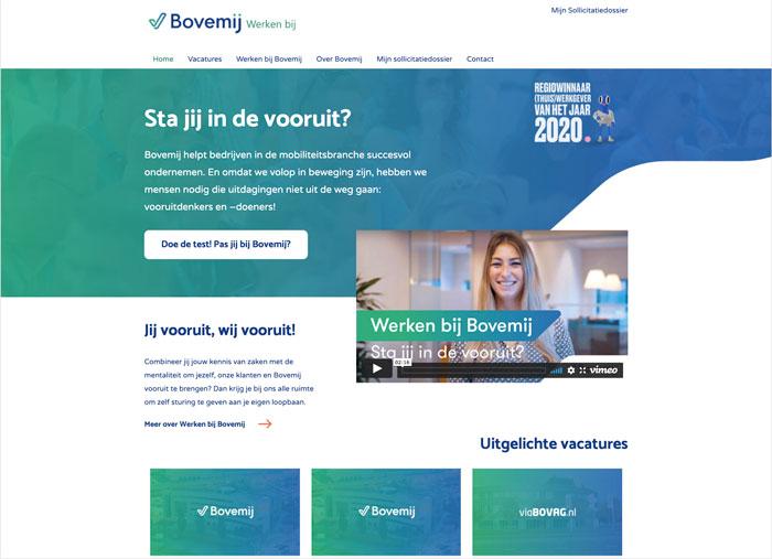 BovemijAFAS OutSite Werkenbij website case