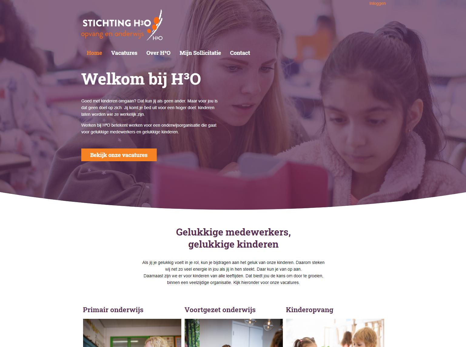 Stichting H3OAFAS OutSite Werkenbij website case