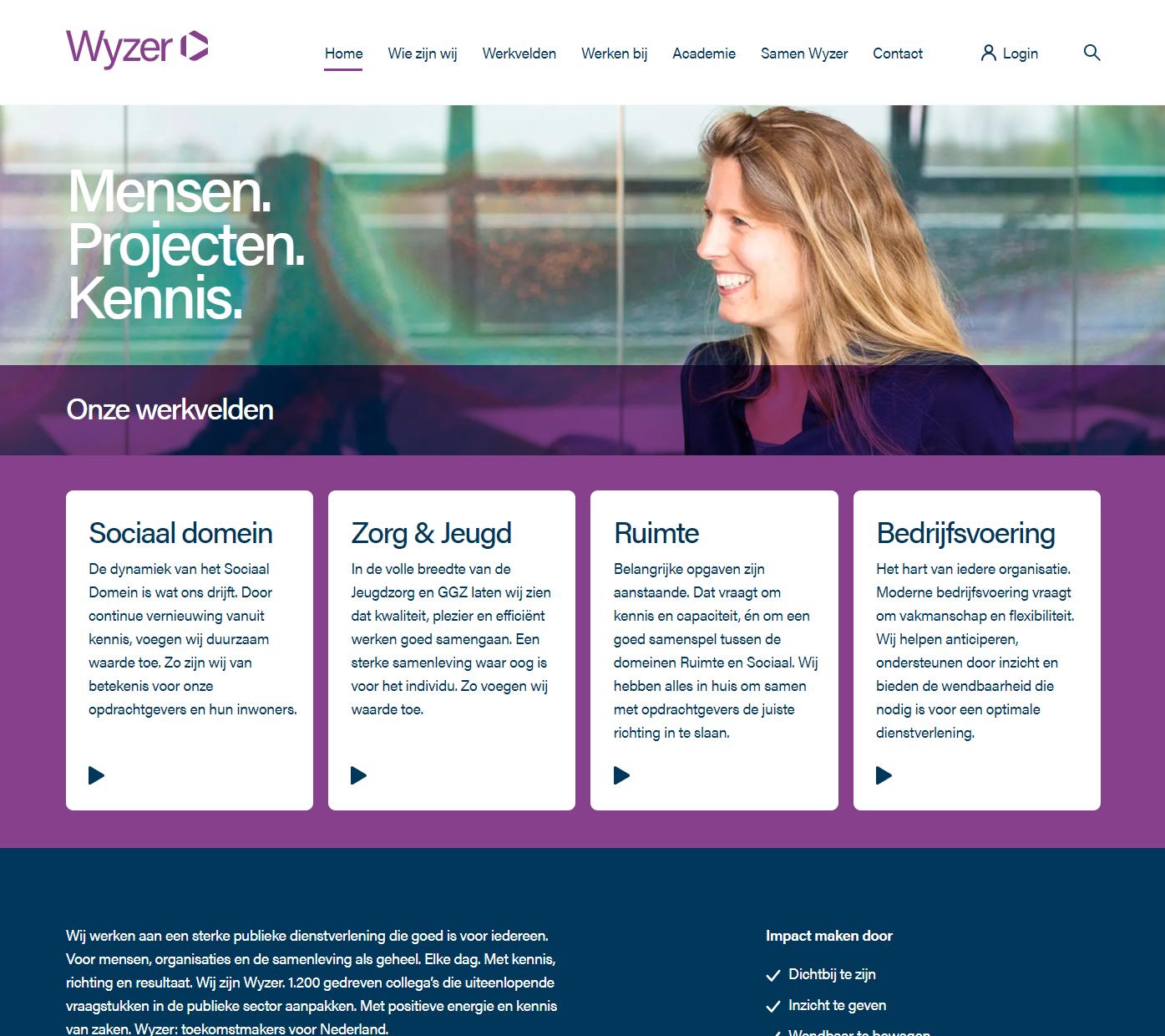 WyzerWordPress website case